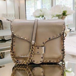 Rebecca Minkoff Midnighter Leather Crossbody Bag